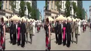 Kraków w 3DHD - Strzeleckie Bractwo Kurkowe cz. 1