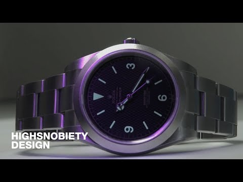 How does the Bamford Watch Department Customize its Rolex Watches?
