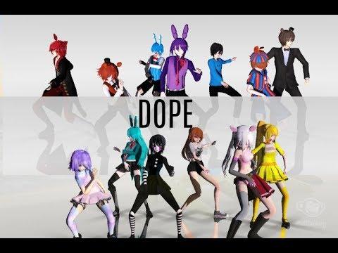 【MMD x FNAF】BTS - Dope