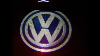 HOW TO INSTALL VW LOGO DOOR LIGHTS IN A 2018 VW ATLAS