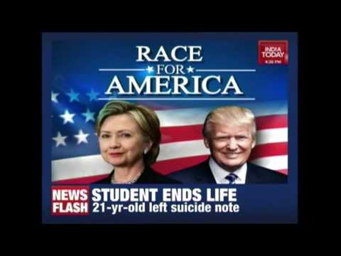 Race To White House: Hillary Or Trump?