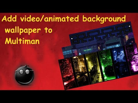 PS3 Tutorial - Spice up your multiman! How to add a video or animated background to Mm thumbnail