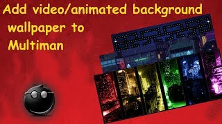 PS3 Tutorial - Spice up your multiman! How to add a video or animated background to Mm