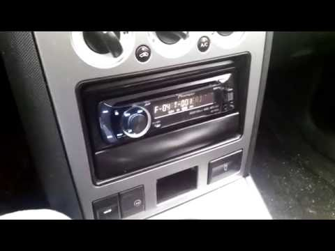 mondeo mk3 radio pioneer deh p4100sd youtube. Black Bedroom Furniture Sets. Home Design Ideas