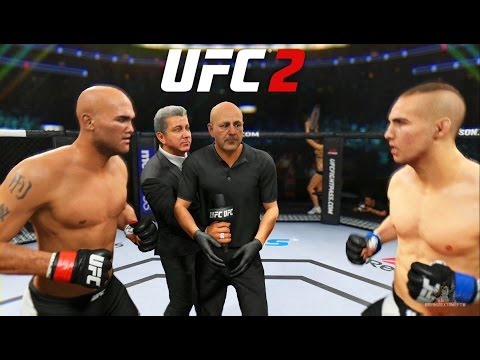 EA Sports UFC 2 - Robbie Lawler vs Rory MacDonald | Fight Of The Year (Ep. 1)