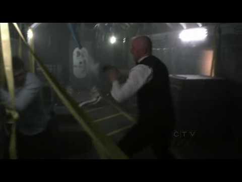 Human Target  Train Fight Pilot