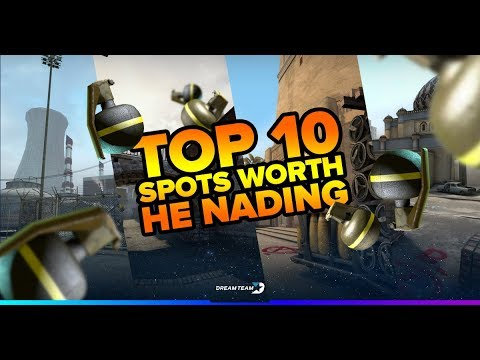 HE Grenades In CS:GO: Top 10 Ways To Use HEs - DreamTeam Blog