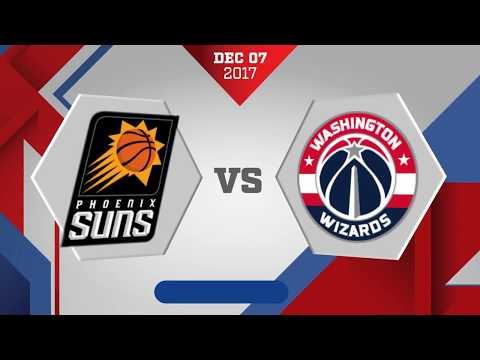 Washington Wizards vs. Phoenix Suns - December 7, 2017