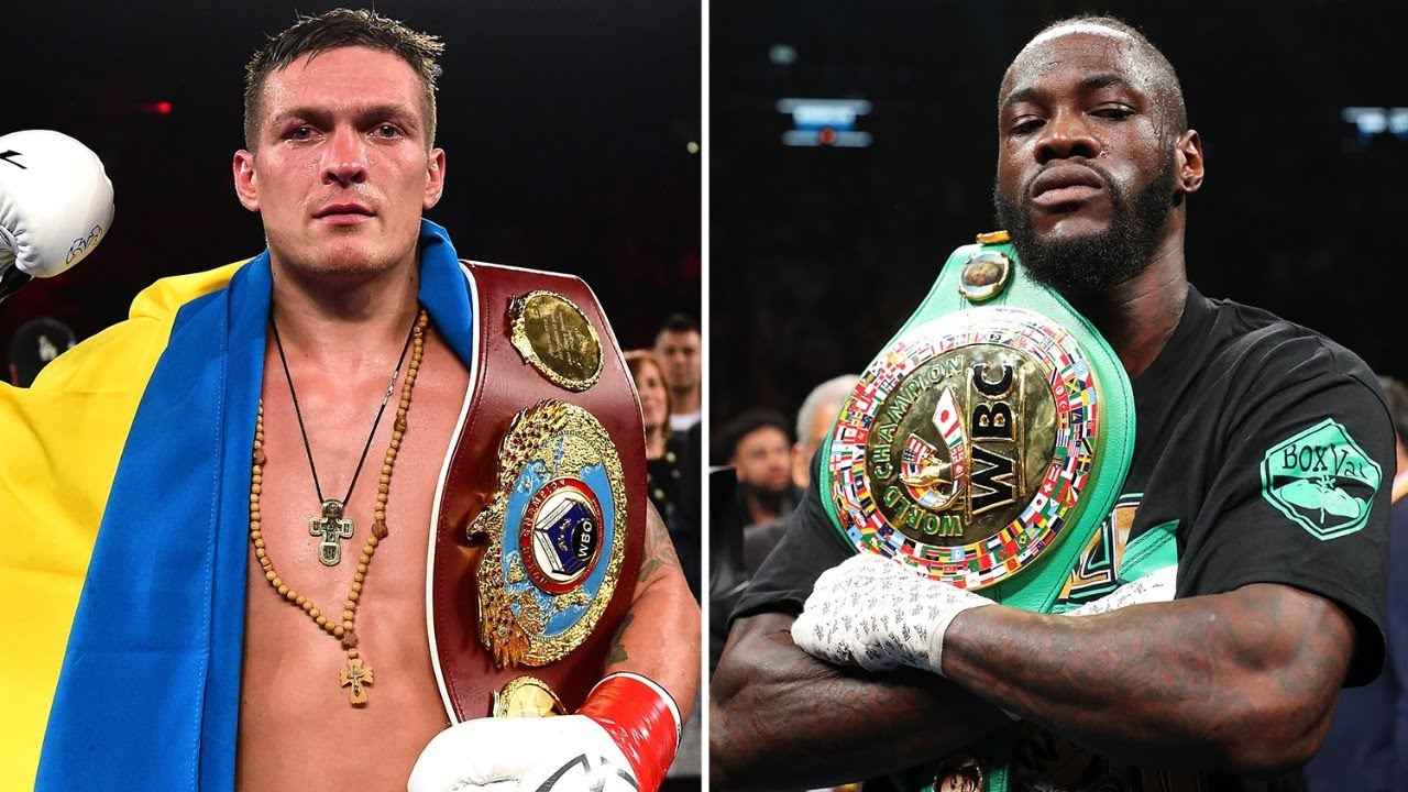 Download Usyk is Paid Agent to Call out Deontay Wilder-Fight Would Never Happen