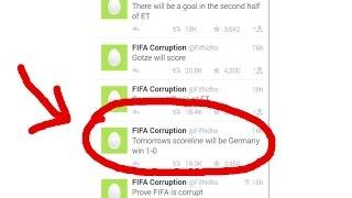 Der Beweis - WM-Sieg gekauft?