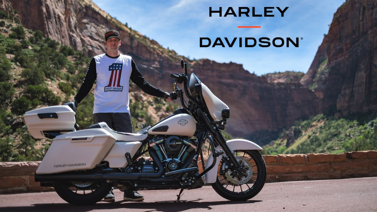 Zion on a Harley-Davidson: A Motorcycle Documentary