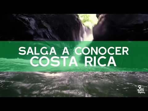 Costa Rica: Río La mina y Mirador -Miramar ¡Qué buen lugar! HD