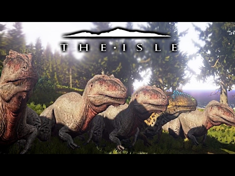 The Isle - EXCESSIVE FRUSTRATION, GIGA FLASH MOB STEALS BABY FOOD, STREAMING? & MORE ( Gameplay )