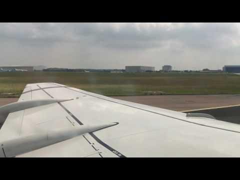 KLM Fokker 70 Flight from Amsterdam to Basel!