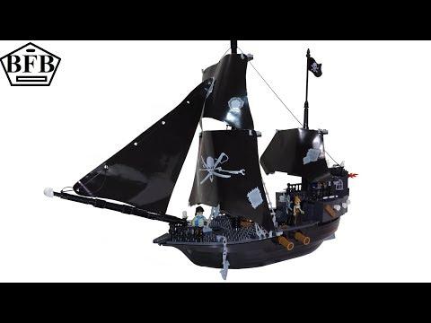 Cobi Pirates 6016   Piraten Schiff   Speed Build Mit Lego Test