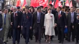 День Победы Иркутск 2013  шествие(, 2016-02-29T13:04:14.000Z)