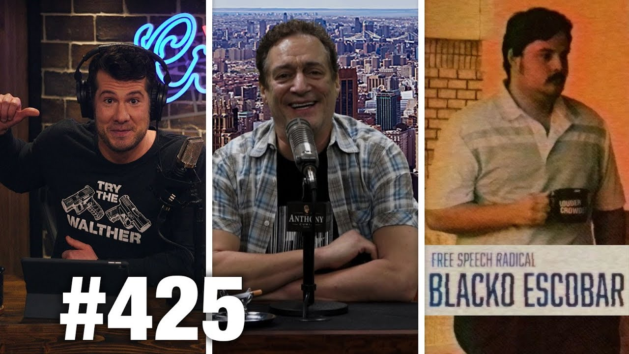 #425 MEDIA'S SHUTDOWN LIES!!   Anthony Cumia Guests   Louder With Crowder