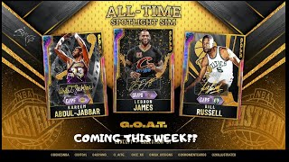 *NEW* ALL TIME SPOTLIGHT SIM COMING TO NBA 2K20 MYTEAM!! 30+ GALAXY OPALS COMING THIS WEEK??