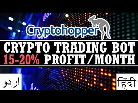 Cryptocurrency Trading Bot Earns 15-20% Profit / Month | Cryptohopper Urdu Hindi Tutorial