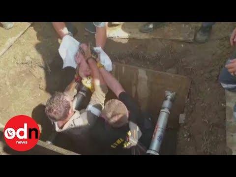 Rescatan a una bebé de un desagüe al que la arrojó su madre