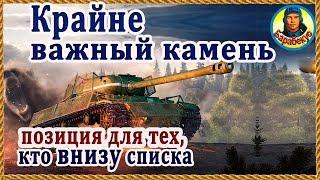 КАМЕНЬ ПРИНОСЯЩИЙ ПОБЕДУ: главное уметь пользоваться в WORLD of TANKS | Наш танк ИС ИС-1 wot IS