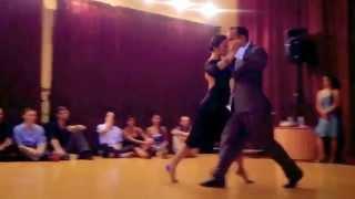 """Maximiliano Cristiani and Jesica Arfenoni — """"Mi dolor"""" — 3/3 at El Abrazo"""