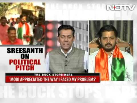 Sreeshanth Exclusive Interview with NDTV