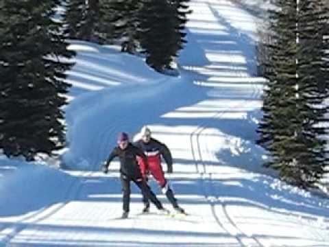 Marcus Nash & Katerina Nash Cross Country Ski