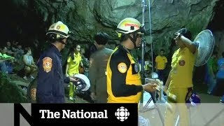 International effort to save Thai boys trapped in cave
