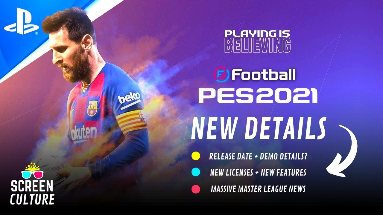 eFootball PES 2021 | PS5 Trailer - New Features, Teams, Leagues, Unreal Engine? & Much More!