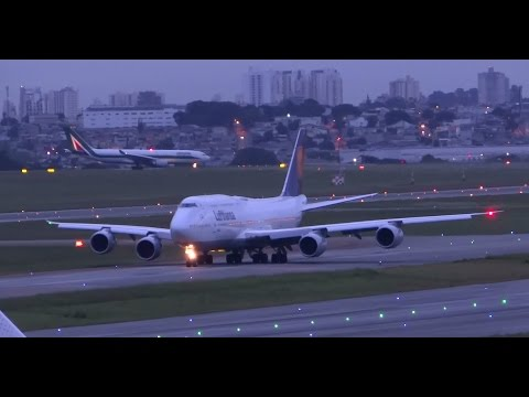 Plane Spotting in GRU Airport - Guarulhos SBGR Sao Paulo