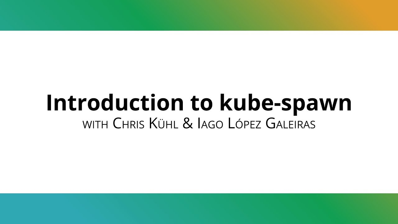 Introducing kube-spawn: a tool to create local, multi-node