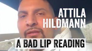 Neue Ansage von Attila Hildmann zum Thema (A Bad Lip Reading)