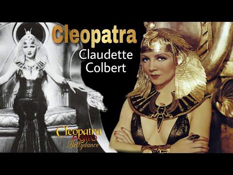 Cleopatra, Claudette Colbert (cenas do filme)