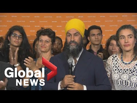 Canada Election: NDP Leader Jagmeet Singh Attends Event In Montreal