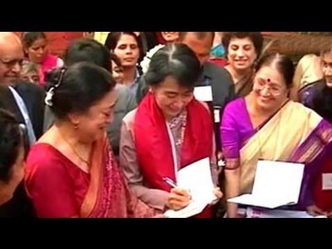 Suu Kyi visits