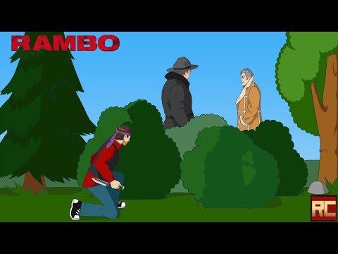 «Рэмбо: Первая кровь». Обзор «Красного Циника»