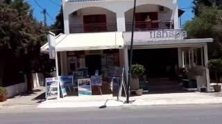 Дорога на пляж Сталида отель  LITSA-EFI 2/The road to the beach Stalida hotel LITSA-EFI 2(Дорога от отеля LITSA-EFI 2 до пляжа составляет 8-10 мин., 2016-06-08T17:17:20.000Z)