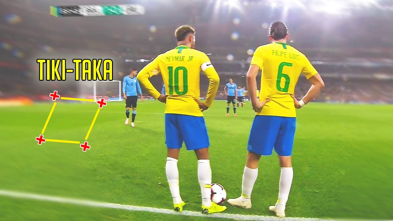 Fast Teamwork Goals Scored in Football