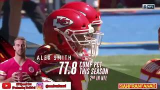 Alex Smith vs Chargers (NFL Week 3) - 164 Yards + 2 TDs! | 2017-18 NFL Highlights HD
