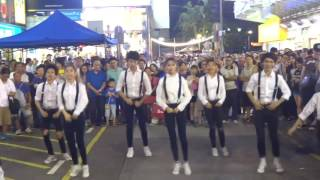 fancam 161030 bts fire seventeen very nice dance cover by sndhk halloween flash mob