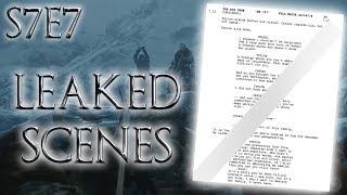 Season 7 Episode 7 Leaked Scenes !   Game of Thrones Season 7 Episode 7