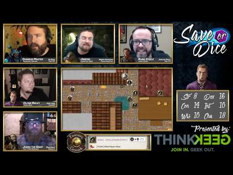Save or Dice | Episode 7 - Hell's Bells | Web DM, Nerdarchy, Taking20, DawnforgedCast
