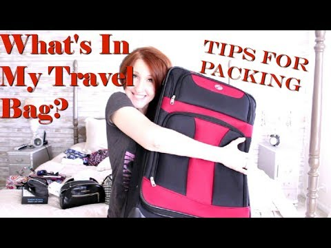 WHAT'S IN MY BAG TRAVEL EDITION HOW I PACK FOR A TRIP