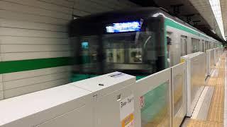 神戸市営地下鉄西神・山手線6000形6135F 三宮駅到着