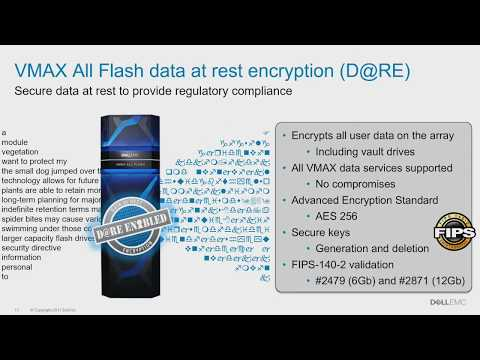 Dell EMC VMAX Architectural Deep Dive with Vince Westin
