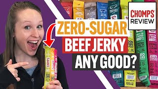 Chomps Review & Taste Test: Are These 100% GrassFed Beef Sticks Any Good? (Paleo, Whole30 Approved)