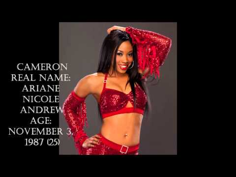 WWE Superstars Real Names And Ages (Female)