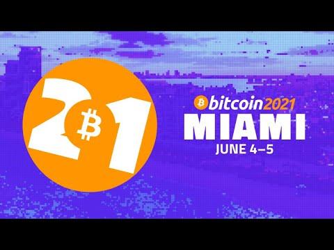 Bitcoin 2021 Livestream - Day 1