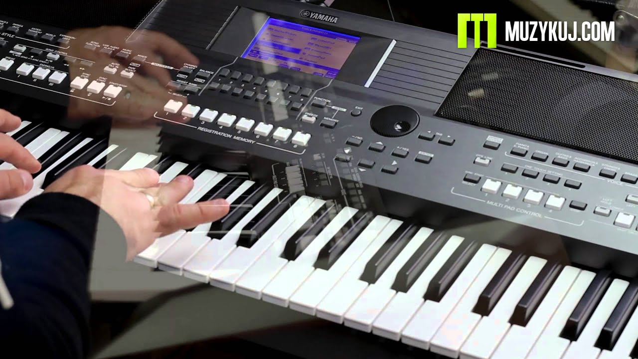 yamaha psr s670 accordion youtube. Black Bedroom Furniture Sets. Home Design Ideas